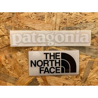 パタゴニア(patagonia)のノースフェイス パタゴニア カッティングステッカー 2枚セット 正規品(その他)