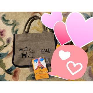 カルディ(KALDI)の2021 KALDI ネコバッグ&人気商品詰め合わせ(その他)