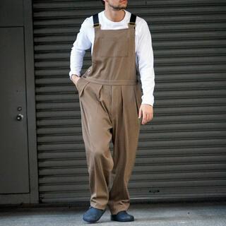 コモリ(COMOLI)のneat Wool High Density Gabardine Overall(サロペット/オーバーオール)