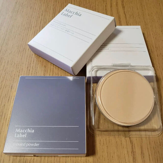 Macchia Label - マキアレイベル 薬用 プレストパウダー セット