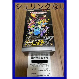 ポケモン(ポケモン)の【新品】ポケモンカード ポケカ シャイニースターV box (Box/デッキ/パック)