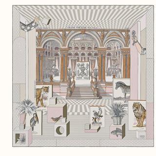 エルメス(Hermes)のエルメス カレ 90 《グラン・テアトル・ヌーヴォー》(バンダナ/スカーフ)