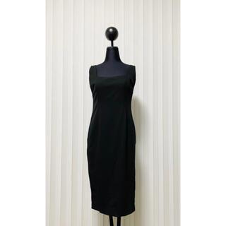 ポロラルフローレン(POLO RALPH LAUREN)のラルフローレン 新品 ラルフ ワンピース ドレス 正装 ブラック ワンピ 無地(ひざ丈ワンピース)