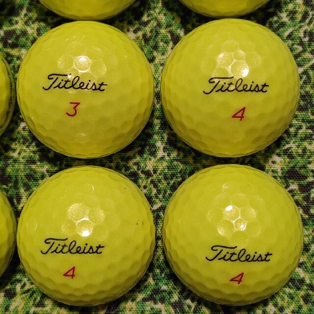 Titleist(タイトリスト)の美品 2019 タイトリスト PRO V1X ロストボール ゴルフボール 315 スポーツ/アウトドアのゴルフ(その他)の商品写真