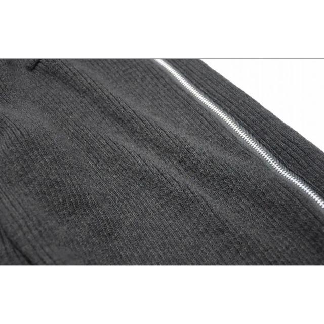 JULIUS(ユリウス)のJULIUS ユリウス NEUROMANTIKA サイドジップウールパンツ 黒 メンズのパンツ(サルエルパンツ)の商品写真