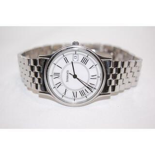 ティファニー(Tiffany & Co.)のTIFFANY&CO クラシックラウンド ホワイト文字盤 SS クォーツ(腕時計(アナログ))