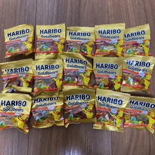 コストコ(コストコ)のハリボー ミニゴールドベア 10g ×15袋(菓子/デザート)