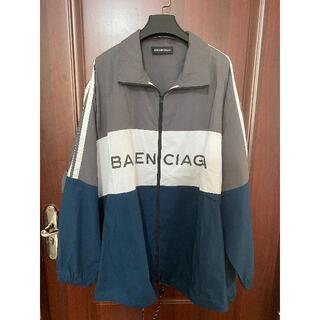 Balenciaga - BALENCIAGA トラックジャケット ポプリンシャツ ロゴ  38