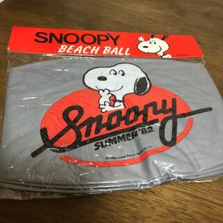 スヌーピー(SNOOPY)のスヌーピー フットボール型 ビーチボール  45cm(その他)