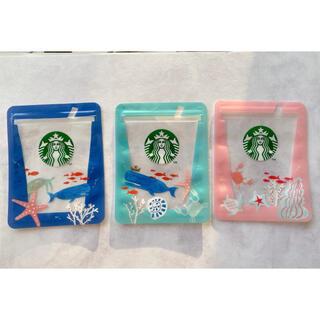 スターバックスコーヒー(Starbucks Coffee)のSTARBUCKS Zipper Bags Ocean Icons(その他)