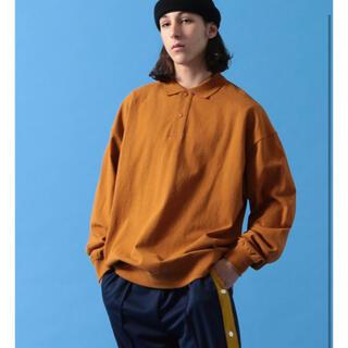 ビームス(BEAMS)のBEAMS  ルーズフィットポロシャツ M(ポロシャツ)