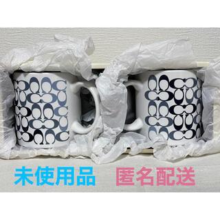 コーチ(COACH)の【未使用品】コーチ✖️ジャイアンツ ペアマグカップ2018(グラス/カップ)