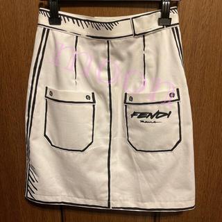 フェンディ(FENDI)のFENDI スカート 未使用(ミニスカート)