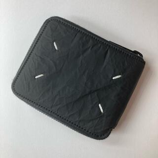 Maison Martin Margiela - メゾンマルジェラ ラウンドジップ折り財布 ウォレット ブラック
