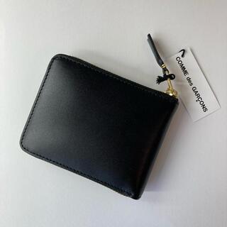 COMME des GARCONS - コムデギャルソン ラウンドジップ折り財布 レザーウォレット SA7100