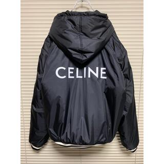 セリーヌ(celine)の新品【 CELINE セリーヌ 】フード付き テディブルゾン / 軽量ナイロン(ブルゾン)
