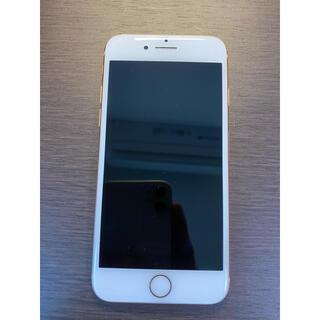 アイフォーン(iPhone)の超美品 simフリー iPhone8 64GB ゴールド シムフリー (スマートフォン本体)