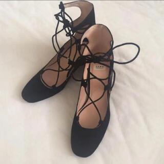 ザラ(ZARA)のZARA レースアップ パンプス  秋靴(ハイヒール/パンプス)