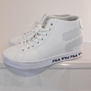 フィラ(FILA)のFILA❤️ハイカット/スニーカー/Style up  (スニーカー)