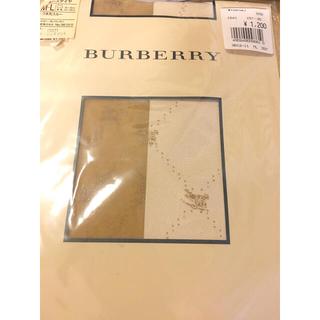 バーバリー(BURBERRY)のお値下げ‼️柄ストッキング バーバリー柄 ブランドストッキング(タイツ/ストッキング)