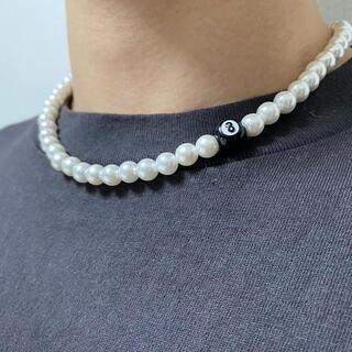 キャピタル(KAPITAL)のpearl necklace パールビーズネックレス 韓国(ネックレス)