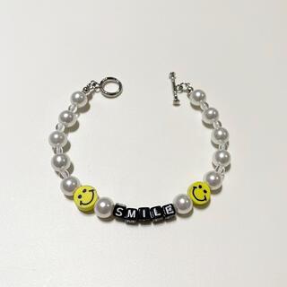キャピタル(KAPITAL)のpearl bracelet パールビーズブレスレット(ブレスレット)