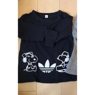スヌーピー(SNOOPY)のスヌーピー プリントロンT 無印 80(Tシャツ)