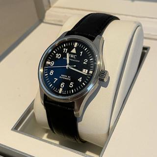 IWC - 国内正規 IWC MARK ⅩⅤ マーク15 腕時計 黒文字盤 ギャランティ