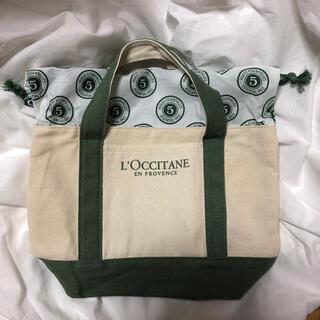 ロクシタン(L'OCCITANE)の&ROSY 2018年10月号付録  ロクシタン ミニトートバッグ(トートバッグ)