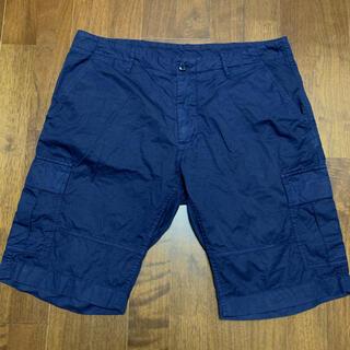 ユナイテッドアローズ(UNITED ARROWS)のユナイテッドアローズ ショートパンツ カーゴ ネイビー XL 50 ハーフパンツ(ショートパンツ)
