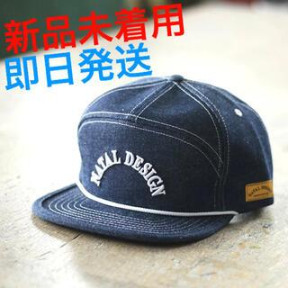 ネイタルデザイン(NATAL DESIGN)の新品未着用 NATAL DESIGN GOOD BOY CAP DENIM(キャップ)