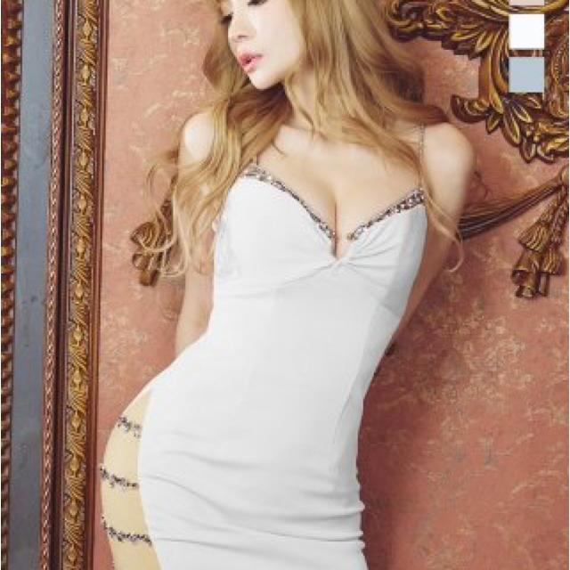 AngelR(エンジェルアール)の【新品】Angel R / エンジェルアール ミニドレス AR21214 WHM レディースのフォーマル/ドレス(ミニドレス)の商品写真