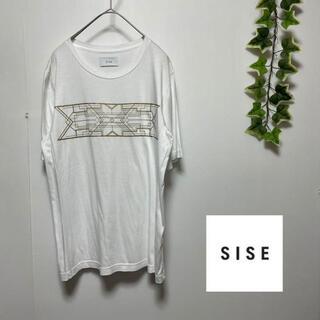 SISE シセ カットソー Tシャツ プリント ドメスティック ストリート