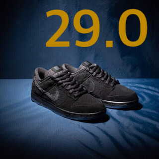 UNDEFEATED - UNDEFEATED NIKE DUNK LOW SP BLACK