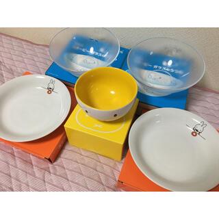 スヌーピー(SNOOPY)のミッフィー&スヌーピー×ローソン🐰お皿・ボウルセット(食器)