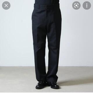 コモリ(COMOLI)の21ss COMOLI コモリ POST WORK TWILL PANTS(ワークパンツ/カーゴパンツ)