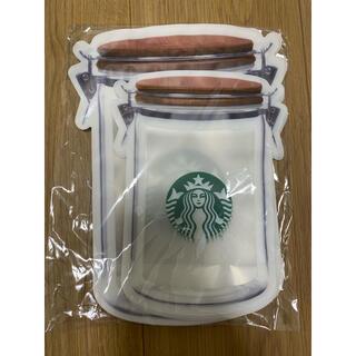 スターバックスコーヒー(Starbucks Coffee)のスターバックス ジッパーバック(収納/キッチン雑貨)