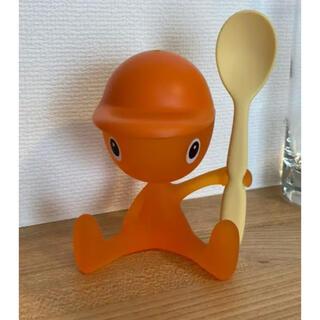 アレッシィ(ALESSI)のALESSI アレッシィ エッグスタンド オレンジ(収納/キッチン雑貨)