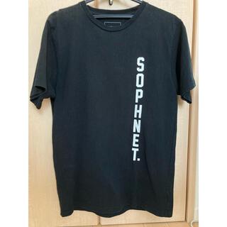 ソフネット(SOPHNET.)のSOPH. ソフネット ブラックTシャツ サイズM(Tシャツ/カットソー(半袖/袖なし))