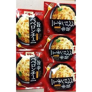 ニッシンセイフン(日清製粉)のママー パスタソース  旨辛ペペロンチーノ(レトルト食品)