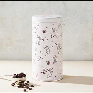 タリーズコーヒー(TULLY'S COFFEE)のタリーズコーヒー 鳥獣戯画 コラボ キャニスター(日用品/生活雑貨)