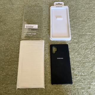Galaxy - Galaxy Note 10 plus用 純正シリコンケース