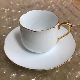 オオクラトウエン(大倉陶園)の大倉陶園 オークラ カップ&ソーサー デミタスカップ 1客(食器)