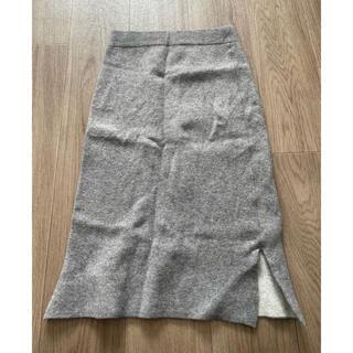 ムジルシリョウヒン(MUJI (無印良品))の無印良品 レディースウールロングスカート(ロングスカート)