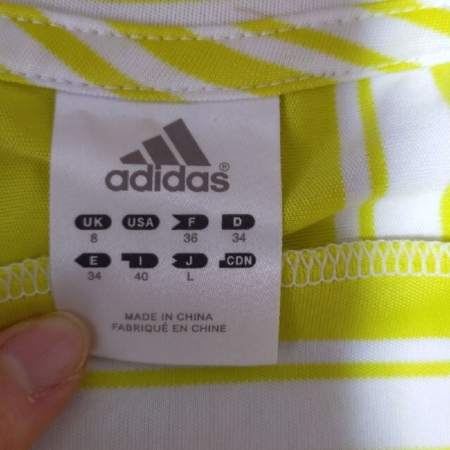adidas(アディダス)のアディダススポーツウェアレディースL スポーツ/アウトドアのランニング(ウェア)の商品写真