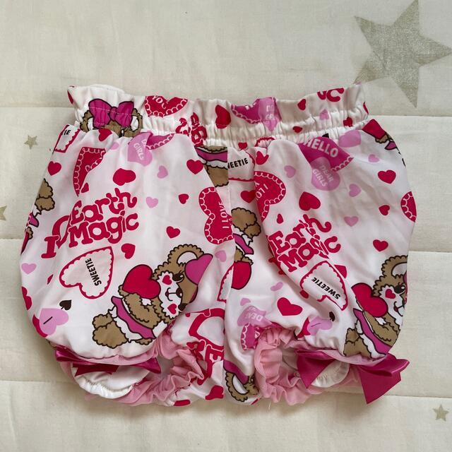 EARTHMAGIC(アースマジック)のEARTHMAGIC パンツ キッズ/ベビー/マタニティのキッズ服女の子用(90cm~)(パンツ/スパッツ)の商品写真
