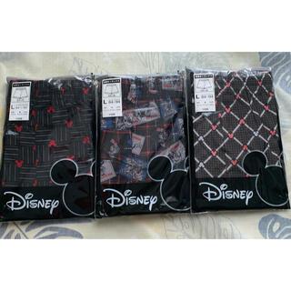 ディズニー(Disney)のディズニー ミッキーマウス 前開きトランクス Lサイズ 3枚組(トランクス)