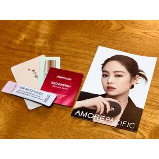BLACKPINKジェニのカード(amore pacific)