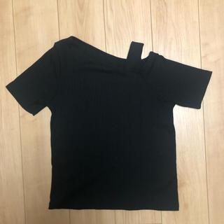 ヴィス(ViS)のワンショルダートップス(Tシャツ(半袖/袖なし))