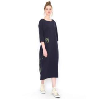 グラニフ(Graniph)のグラニフ⭐︎素敵な刺繍ワンピース⭐︎新品⭐︎(ロングワンピース/マキシワンピース)